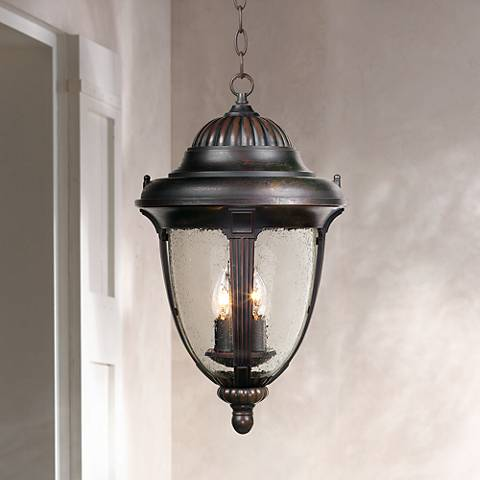 "Casa Sierra™ 20 1/2"" High Outdoor Hanging Lantern"
