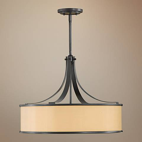 "Feiss Casual Luxury Collection 23"" Wide Pendant Chandelier"