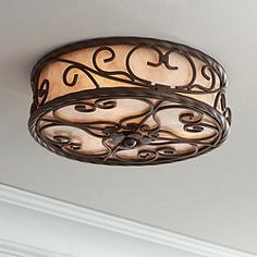 Traditional ceiling lighting close to ceiling lights lamps plus natural mica collection 12 aloadofball Image collections