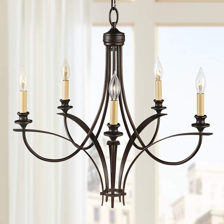 "Feiss Boulevard Collection 25 1/2"" Wide Chandelier"
