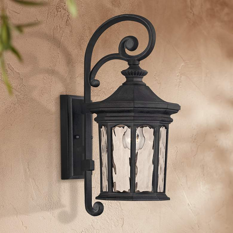 "Hinkley Raley Collection 16 1/2"" High Outdoor Wall Light"