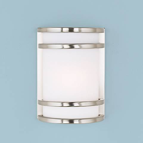 "Bay View Collection  9 1/2"" High Outdoor Wall Light"