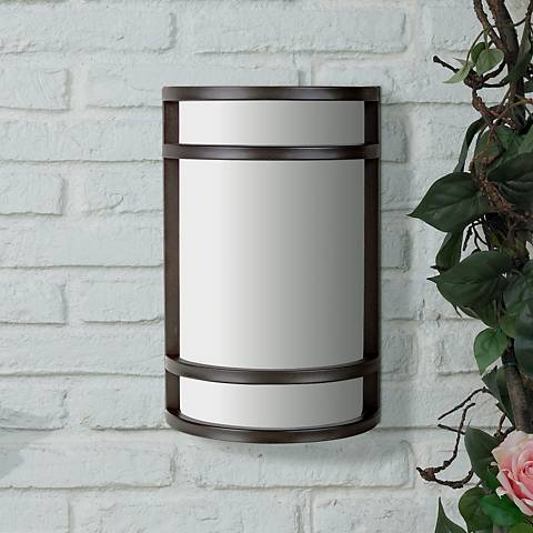 "Bay View Collection Bronze 12"" High Outdoor Wall Light"