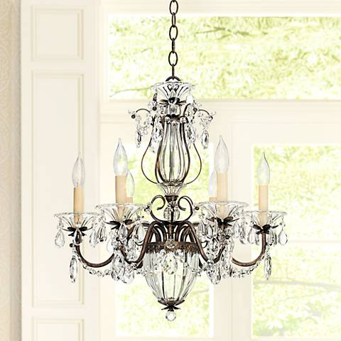 Schonbek Bagatelle Collection 21 Wide Crystal Chandelier