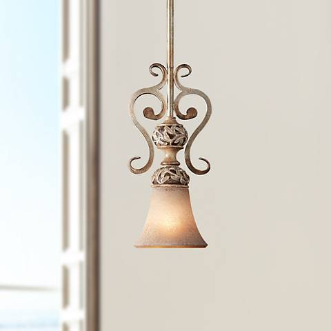 Jessica McClintock's Salon Grand Leaf Mini-Chandelier