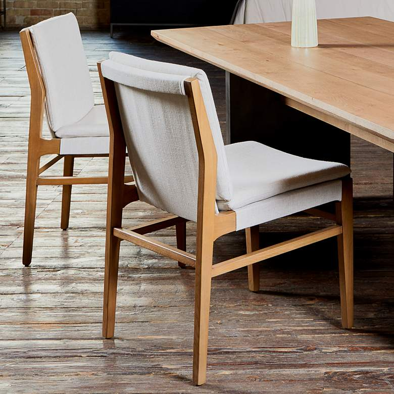 Aya Modern Brown Nettlewood Dining Chair