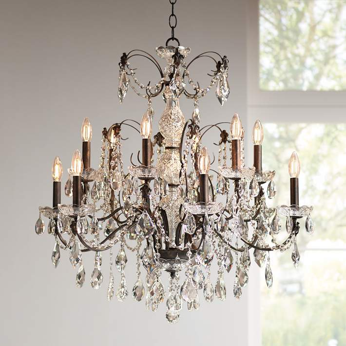 Schonbek Century Collection 30 Wide Crystal Chandelier 98497 Lamps Plus
