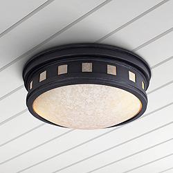 "Sedona 13"" Wide Oil-Rubbed Bronze Outdoor Ceiling Light"