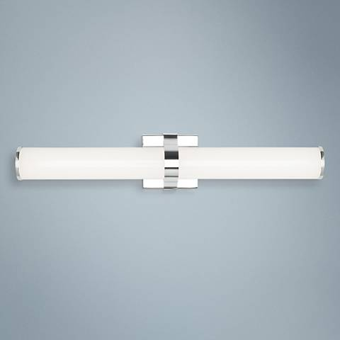 "LBL Lighting Lynk 24"" Wide Polished Chrome LED Bath Light"