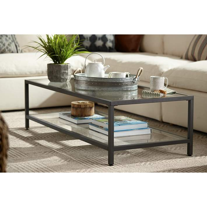 Studio Designs 54 Wide Rectangular Glass Top Coffee Table 9d924 Lamps Plus