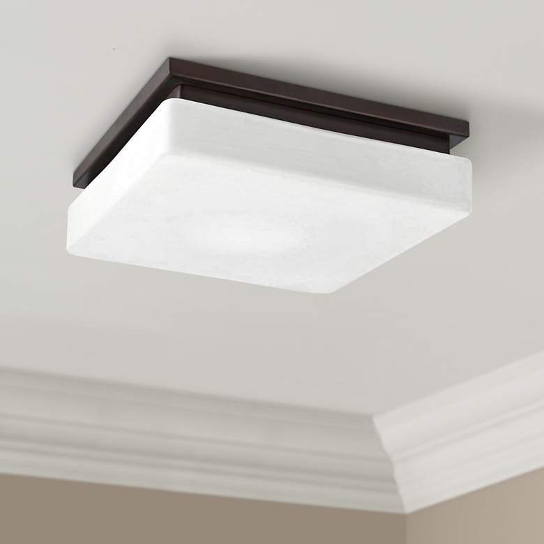 "Eurofase Ellsworth 11 1/2"" Wide Bronze LED Ceiling"