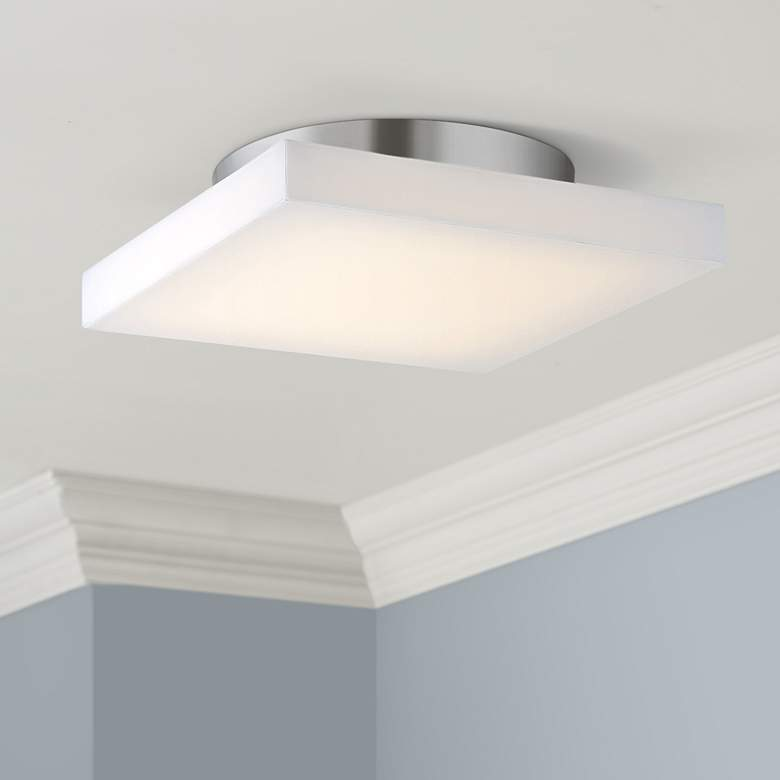 "Eurofase Evolve 12"" Wide Chrome LED Ceiling Light"
