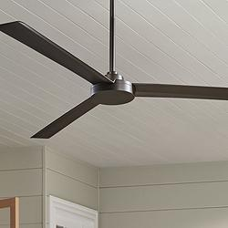 "62"" Minka Aire Roto XL Oil-Rubbed Bronze Outdoor Ceiling Fan"