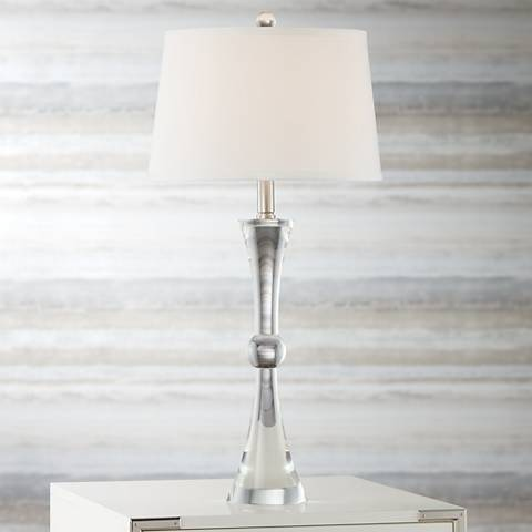 Vienna Full Spectrum Chapin Crystal Table Lamp