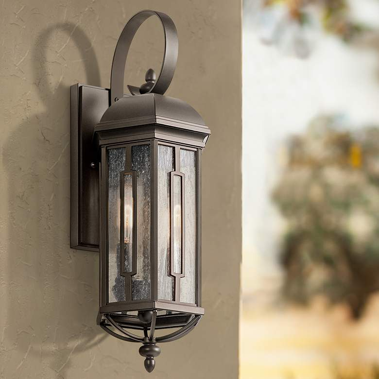 "Kichler Galemore 18"" High Olde Bronze Outdoor Wall"