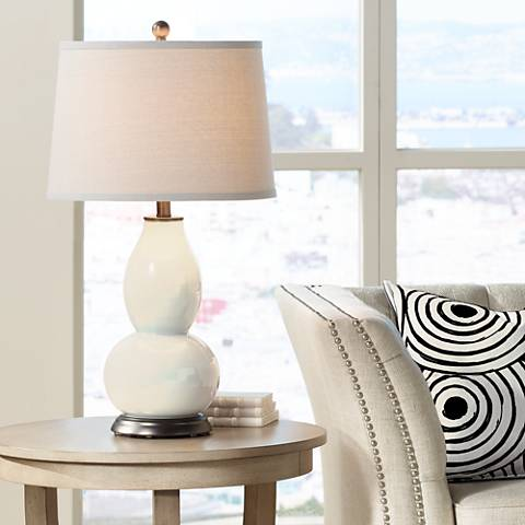 Steamed Milk Double Gourd Table Lamp