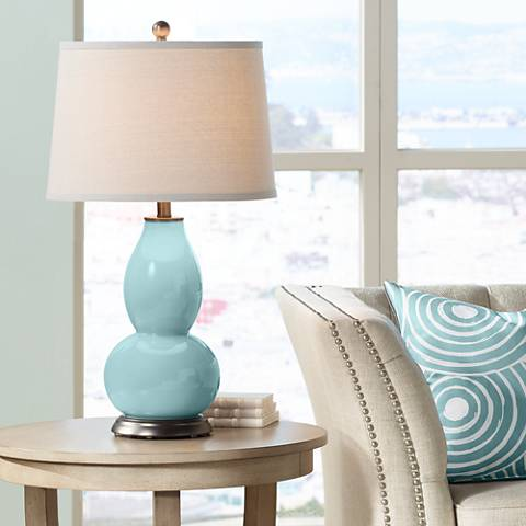 Raindrop Double Gourd Table Lamp