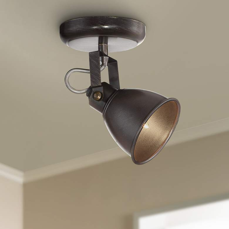 Pro Track® Abby 1-Light Bronze Track Fixture
