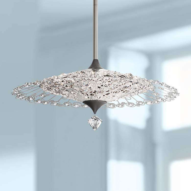 "Schonbek Sunsarilo 18""W Spectra Crystal Pendant Light"