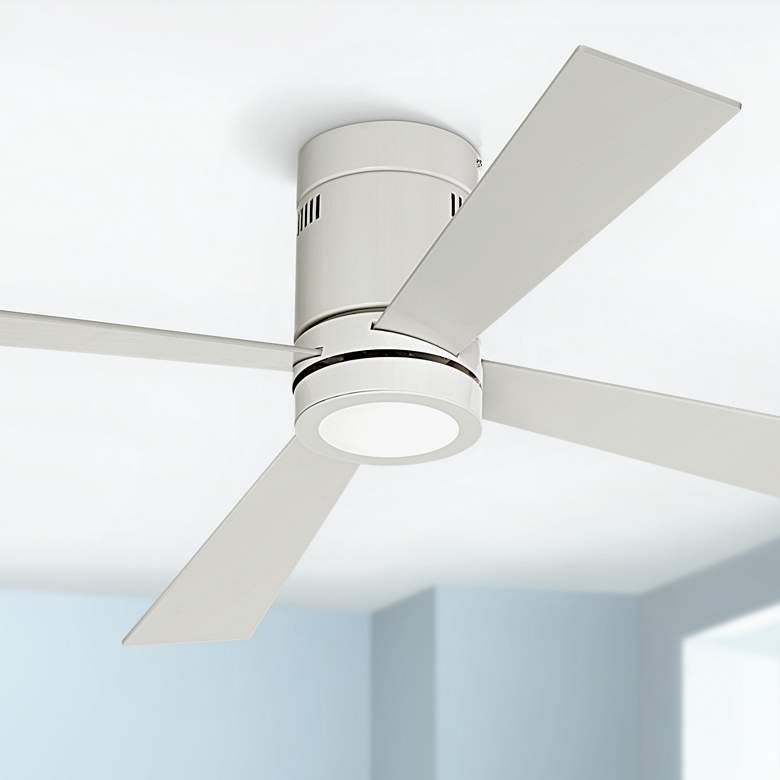 "52"" Casa Vieja® Revue White - LED Ceiling"