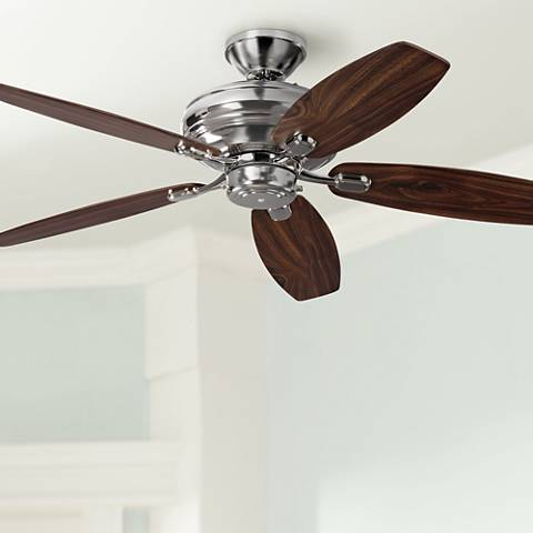 "52"" Centro Max Uplight Polished Nickel Ceiling Fan"