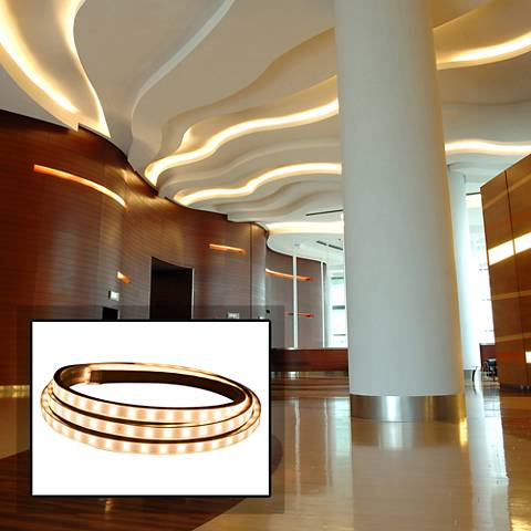 Hybrid 2 45-Foot Warm White LED Tape Light Kit