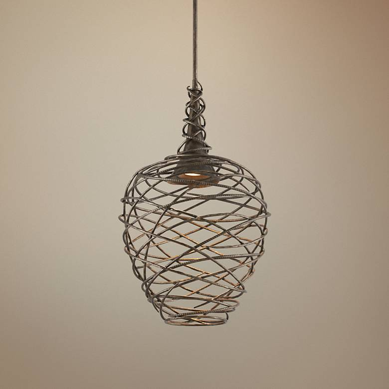 "Sanctuary 19 3/4"" Wide Cottage Bronze LED Pendant Light"