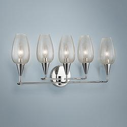 "Hudson Valley Longmont 11"" High Polished Nickel Wall Sconce"