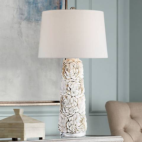 Windley Natural Shell Table Lamp