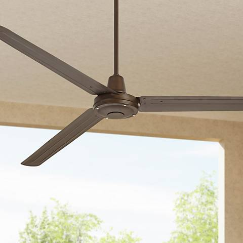 "72"" Turbina XL™ Oil-Rubbed Bronze Ceiling Fan"