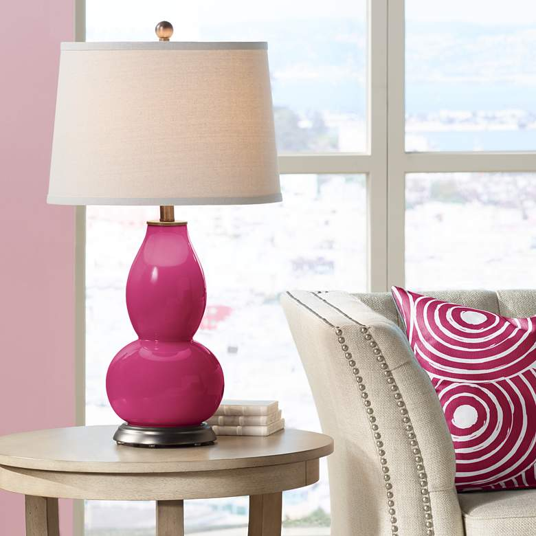 Vivacious Double Gourd Table Lamp