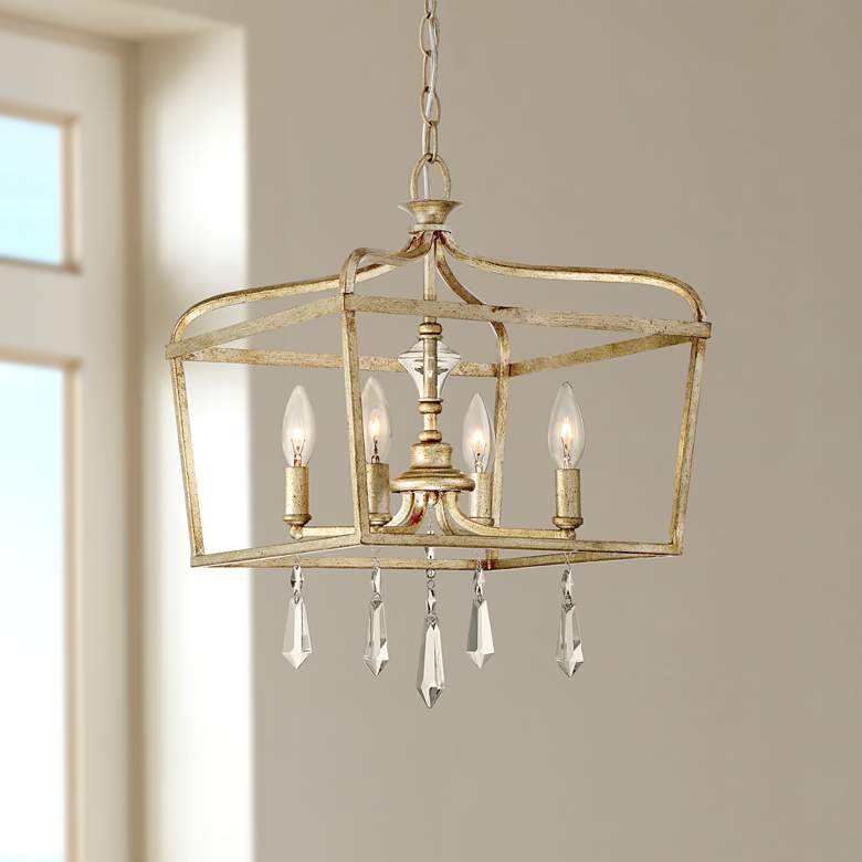 Laurel Estate 14 1 4 Wide Brio Gold Light Pendant