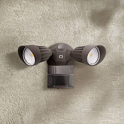 Eco Star 13 Quot W Bronze Motion Sensor 3000k Led Security