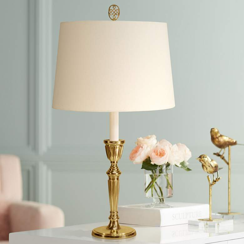 Gloucester Polished Brass Table Lamp