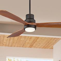 52 Casa Delta WingTM Bronze Outdoor LED Ceiling Fan