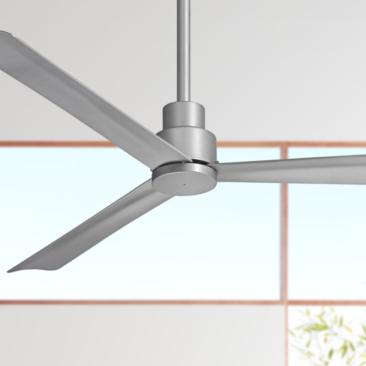 "52"" Minka Aire Simple Silver Ceiling Fan"