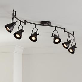 Black Track Lighting Lamps Plus