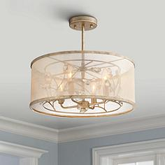 Minka lavery close to ceiling lights lamps plus saras jewel 17 wide champagne silver ceiling light aloadofball Gallery