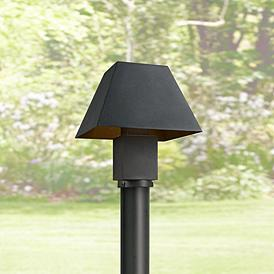 Maxim Pavilion 10 Wide Black Led Outdoor Post Light