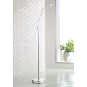 Harmon Brushed Nickel LED Task Floor Lamp