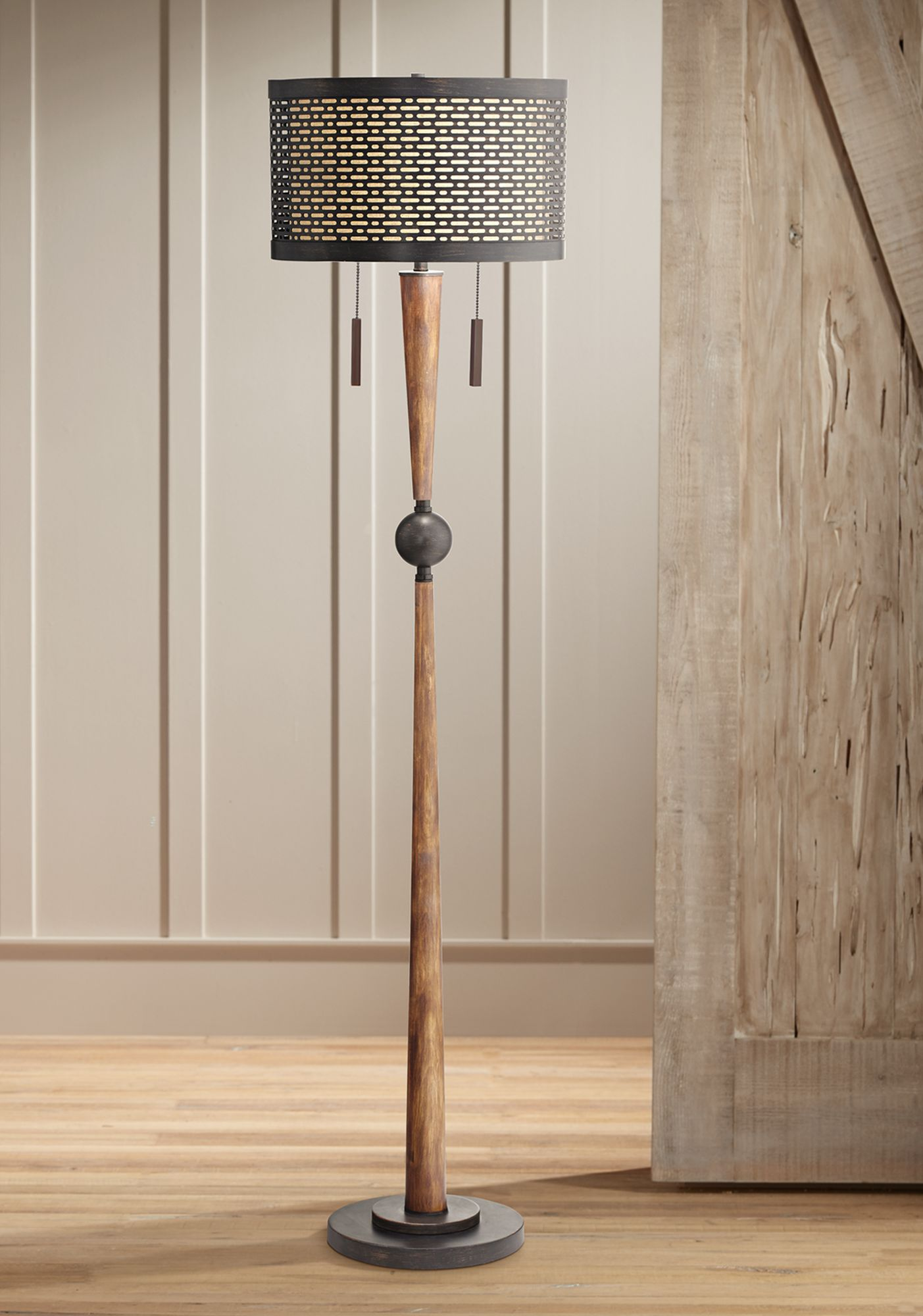 Good Franklin Iron Works Hunter Floor Lamp