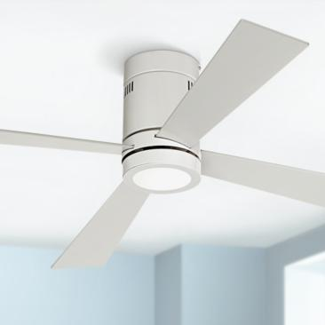 "52"" Casa Vieja® Revue White - LED Ceiling Fan"