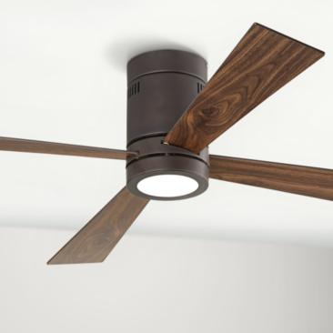"52"" Casa Vieja® Revue Bronze - LED Ceiling Fan"