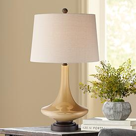 Brown Glass Table Lamps Lamps Plus