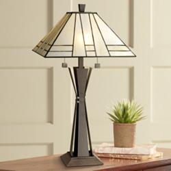 Kathy Ireland Citycraft Mission Table Lamp
