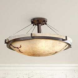 "LumenAria Collection Dakota Cable 26 1/2"" Wide Ceiling Light"