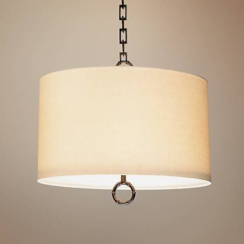 Jonathan Adler Meurice Collection Small Bronze Pendant Light