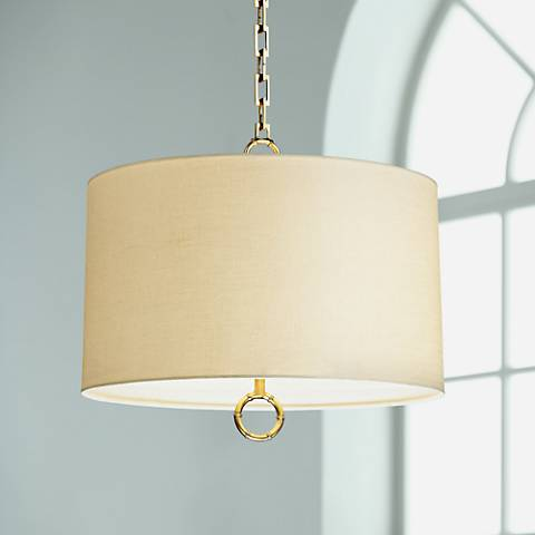 Jonathan Adler Meurice Collection Large Brass Pendant Light
