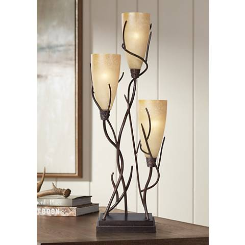 El Dorado 3 Light Uplight Table Lamp H1650 Lamps Plus