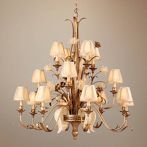 "Tivoli Collection 46"" Wide 3-Tier Traditional Chandelier"